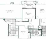 Villa Florentine - 1182, 1210, 1260 and 1285 square foot units are available only in ground and second floor locations.