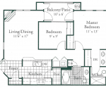 Villa Venezia - 920, 927, 935 and 942 square foot units are available in ground, second and third floor locations.